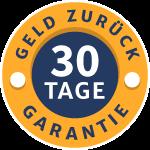 30-Tage Geld-zurück-Garantie
