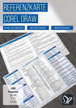 Shortcuts: CorelDRAW-Referenzkarte