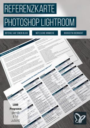 Referenzkarte für Photoshop Lightroom