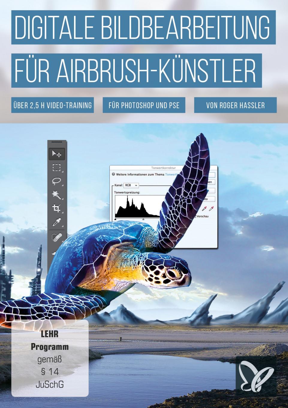 Digitale Bildbearbeitung für Airbrush-Künstler