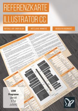 Tastaturkürzel: Illustrator-Referenzkarte