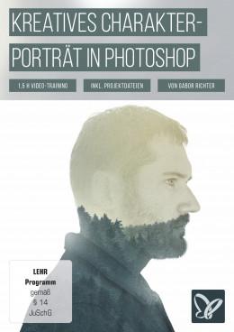 Double Exposure Tutorial für Photoshop: Charakterportrait MY PASSION