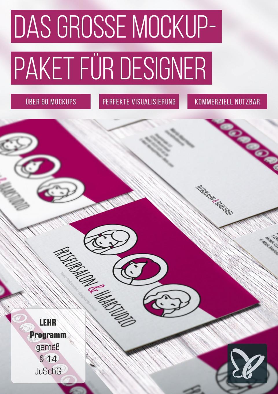 Das große Mockup-Paket für Designer
