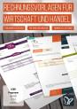 Muster für Rechnungen, Lieferscheine und Angebote – Volume 1