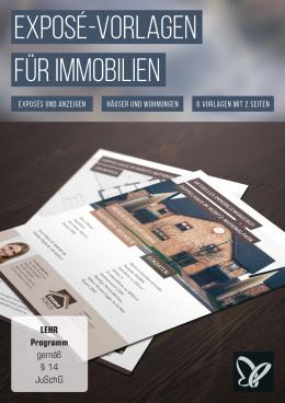 Exposé-Vorlagen für Immobilien, Häuser und Wohnungen