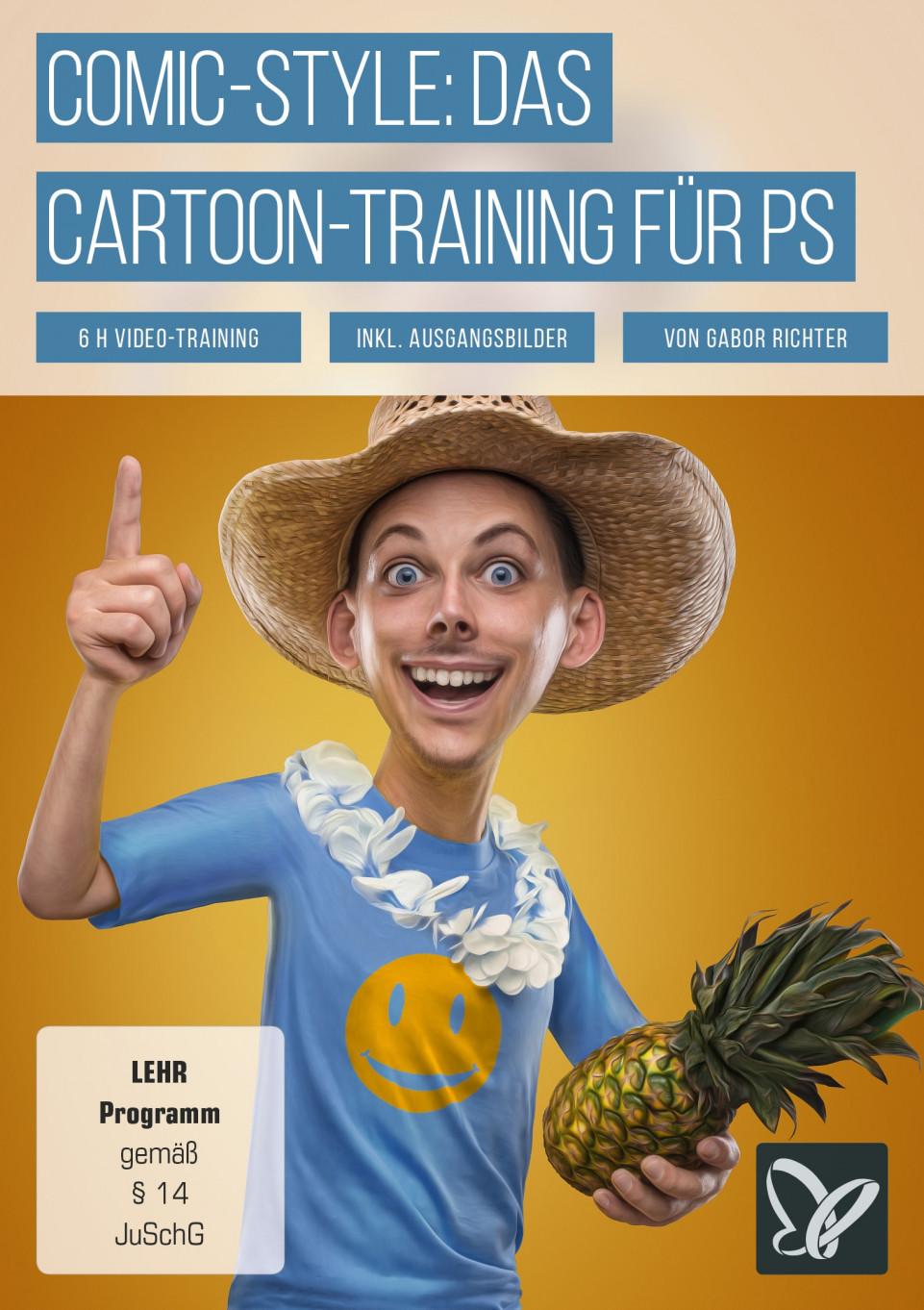 Comic-Style in Photoshop: Das Cartoon-Training Vol. 1