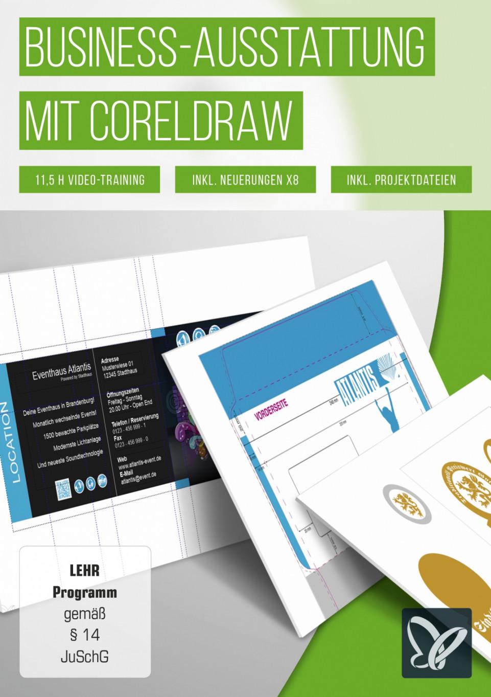Business Ausstattung Mit Coreldraw Tutkit Com