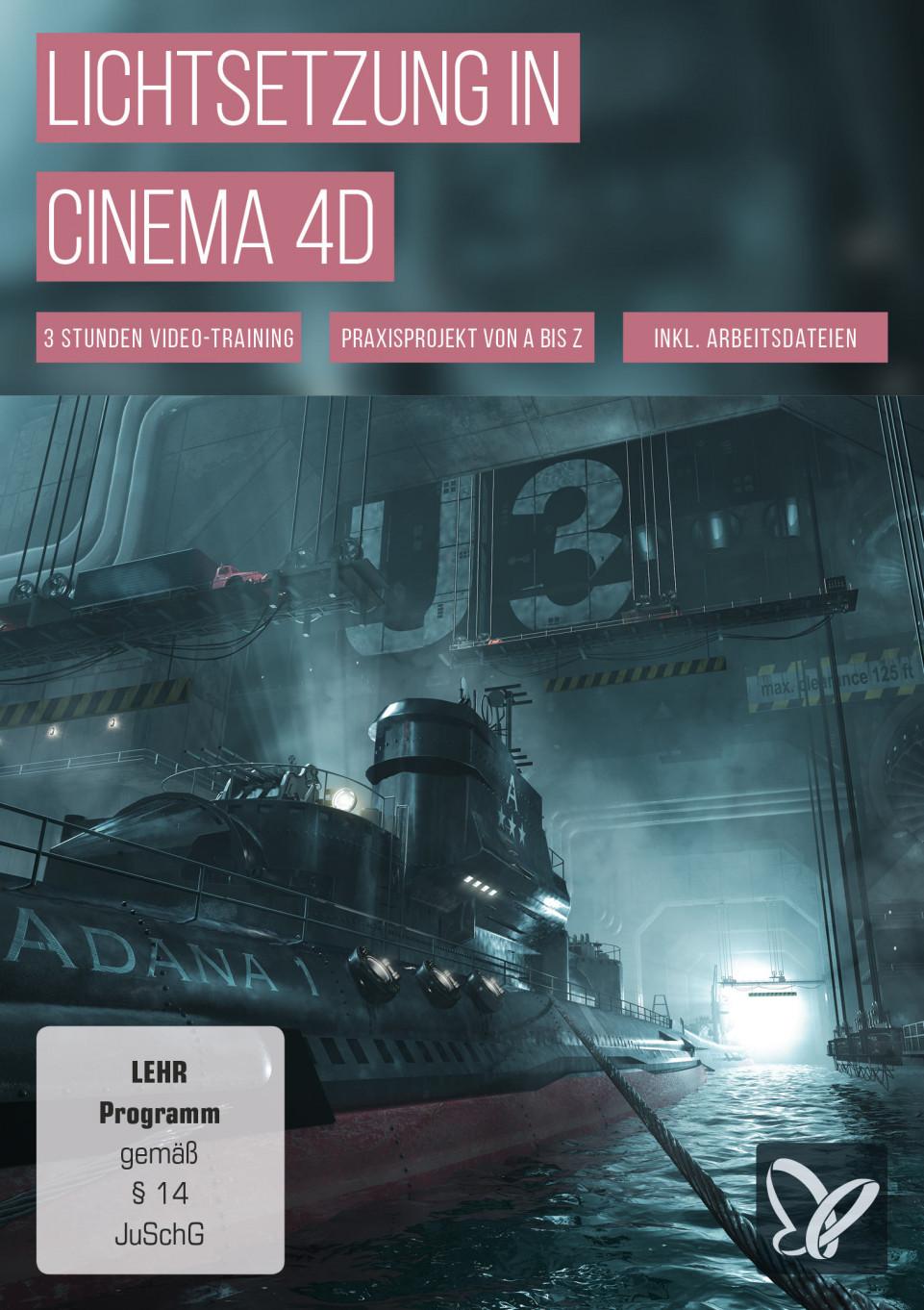 Lichtsetzung in Cinema 4D
