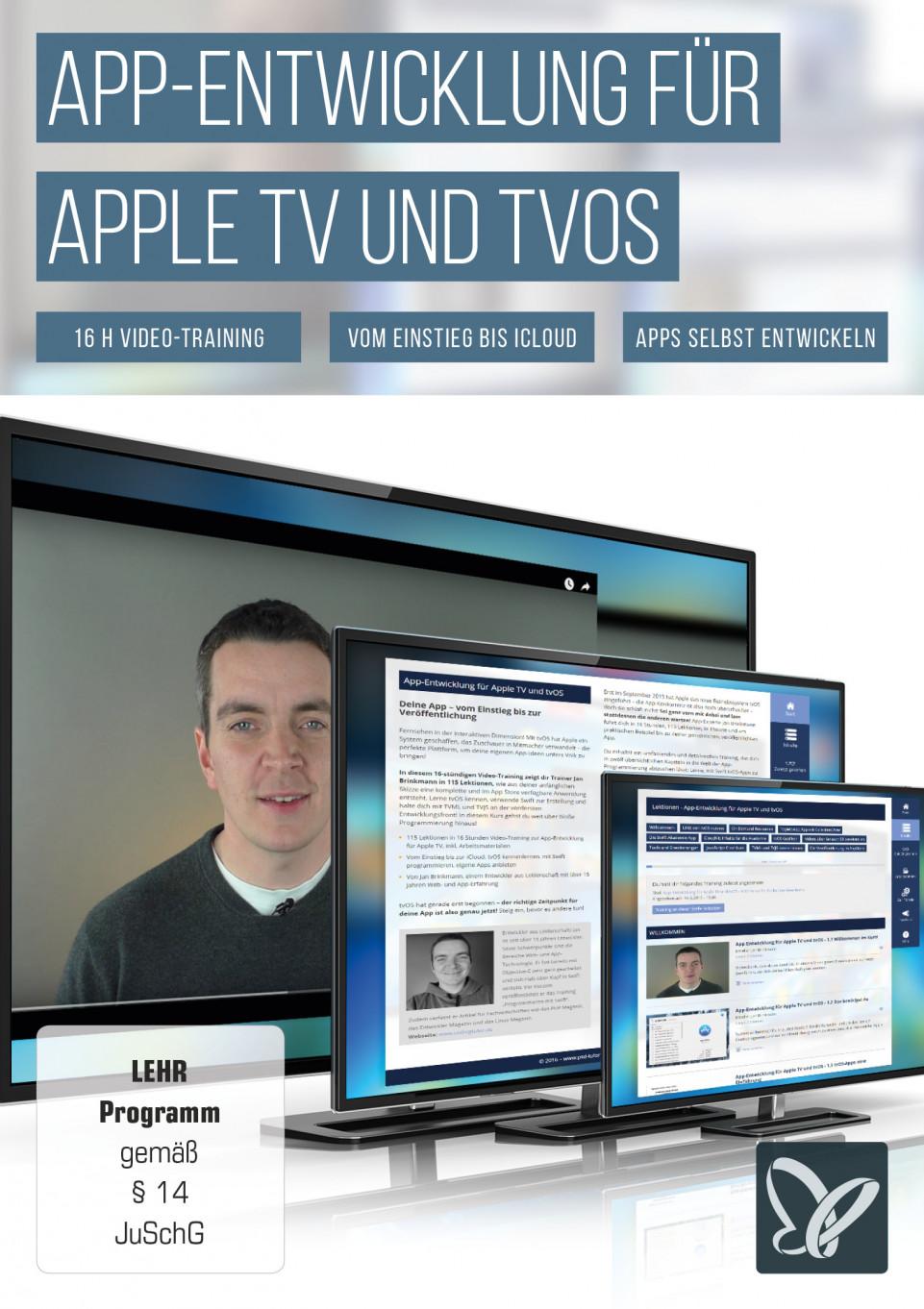 App-Entwicklung für Apple TV und tvOS