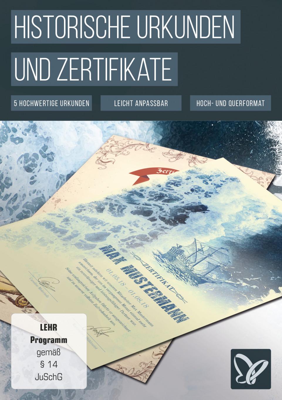 Historische Urkunden und Zertifikate