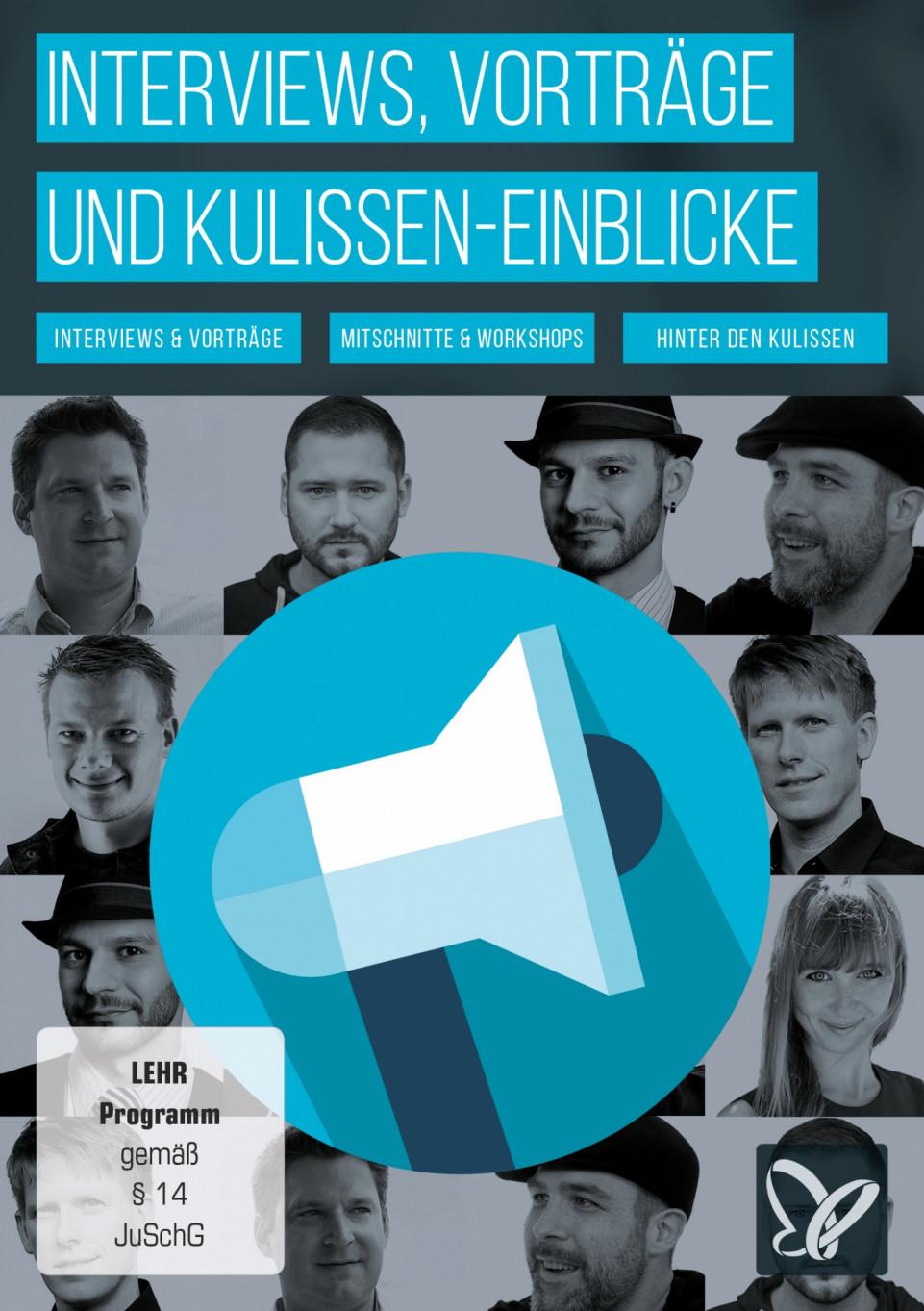 Interviews, Vorträge und Einblicke hinter die Kulissen