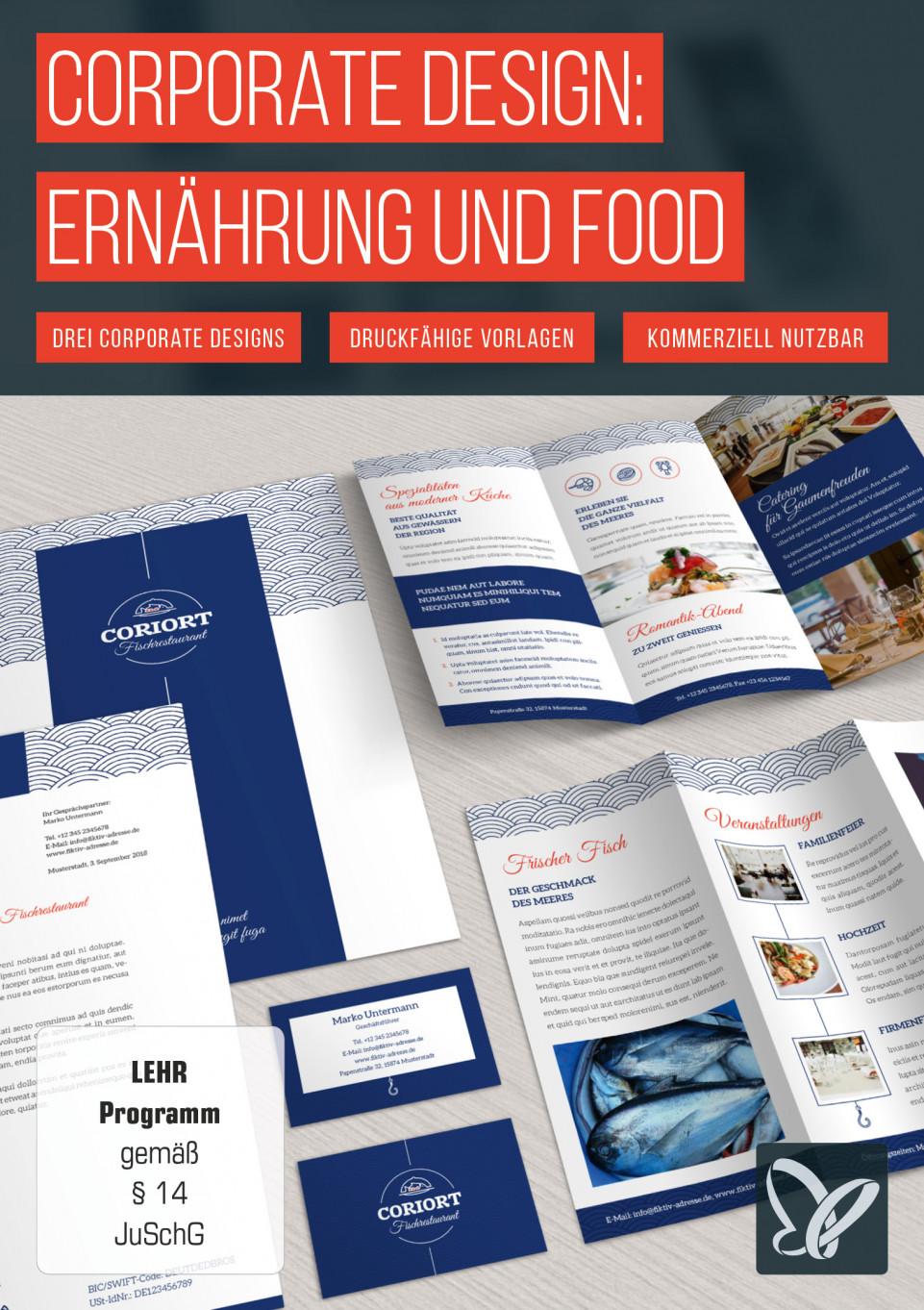 Corporate Design – die Komplettausstattung für Ernährung und Food