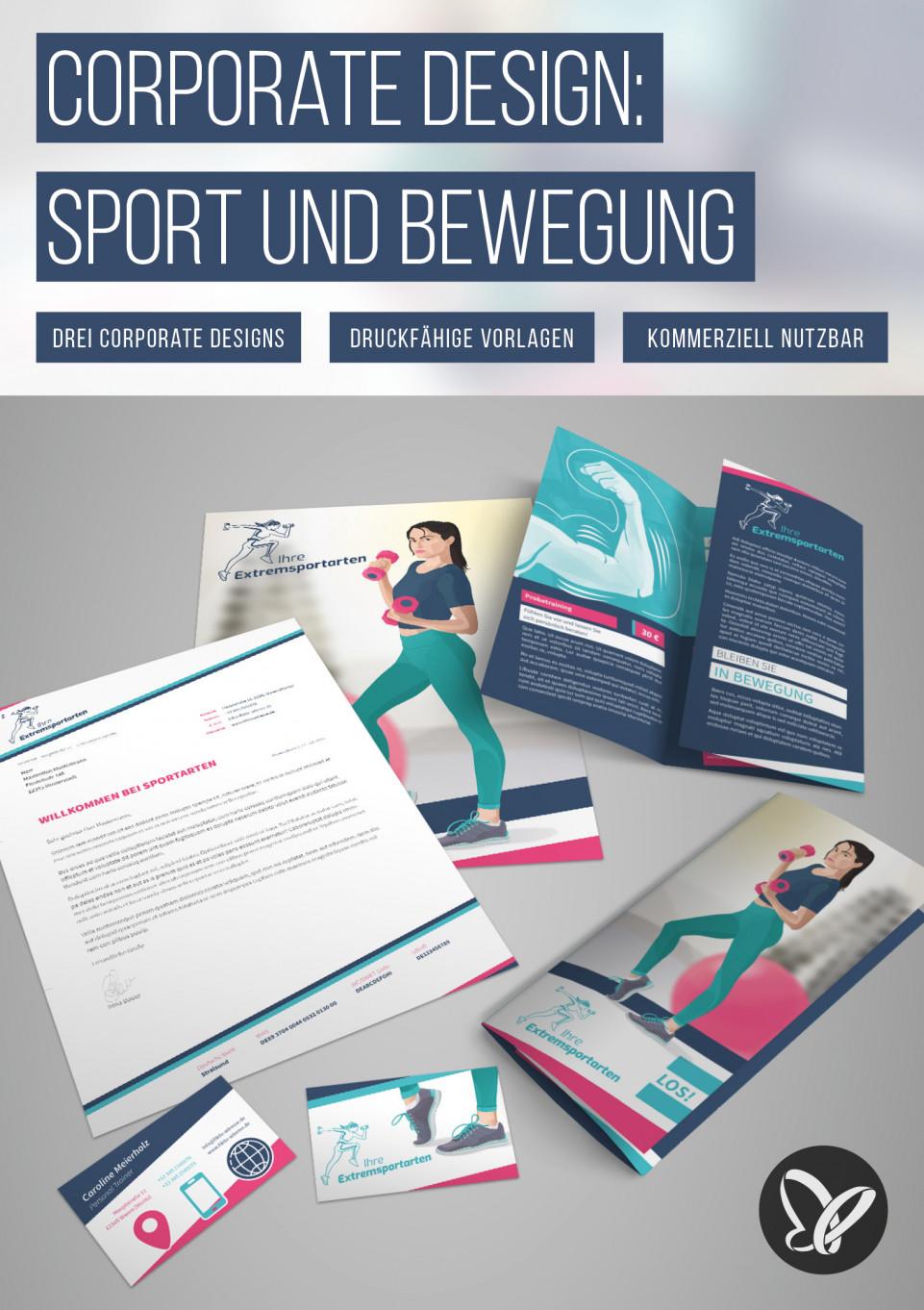 Corporate Design – die Komplettausstattung für Sport und Bewegung