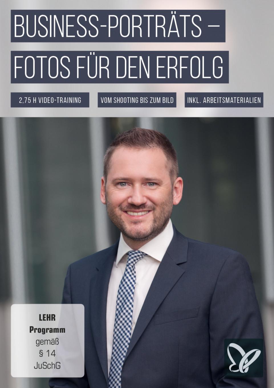 Business-Porträts – der Foto-Workflow für Karriere und Erfolg