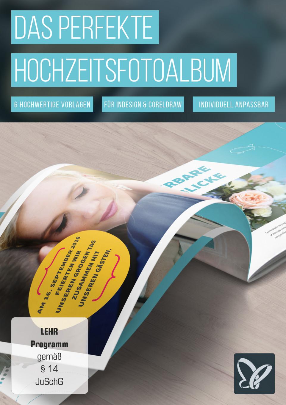 Hochzeitsfotoalbum: Vorlagen für den perfekten Tag