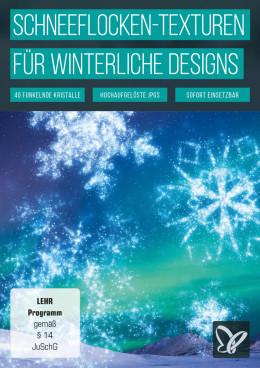 Schneekristalle: Schneeflocken-Bilder und -Vorlagen