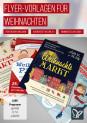 Vorlagen für Weihnachten: Weihnachtsplakate & Weihnachtsflyer
