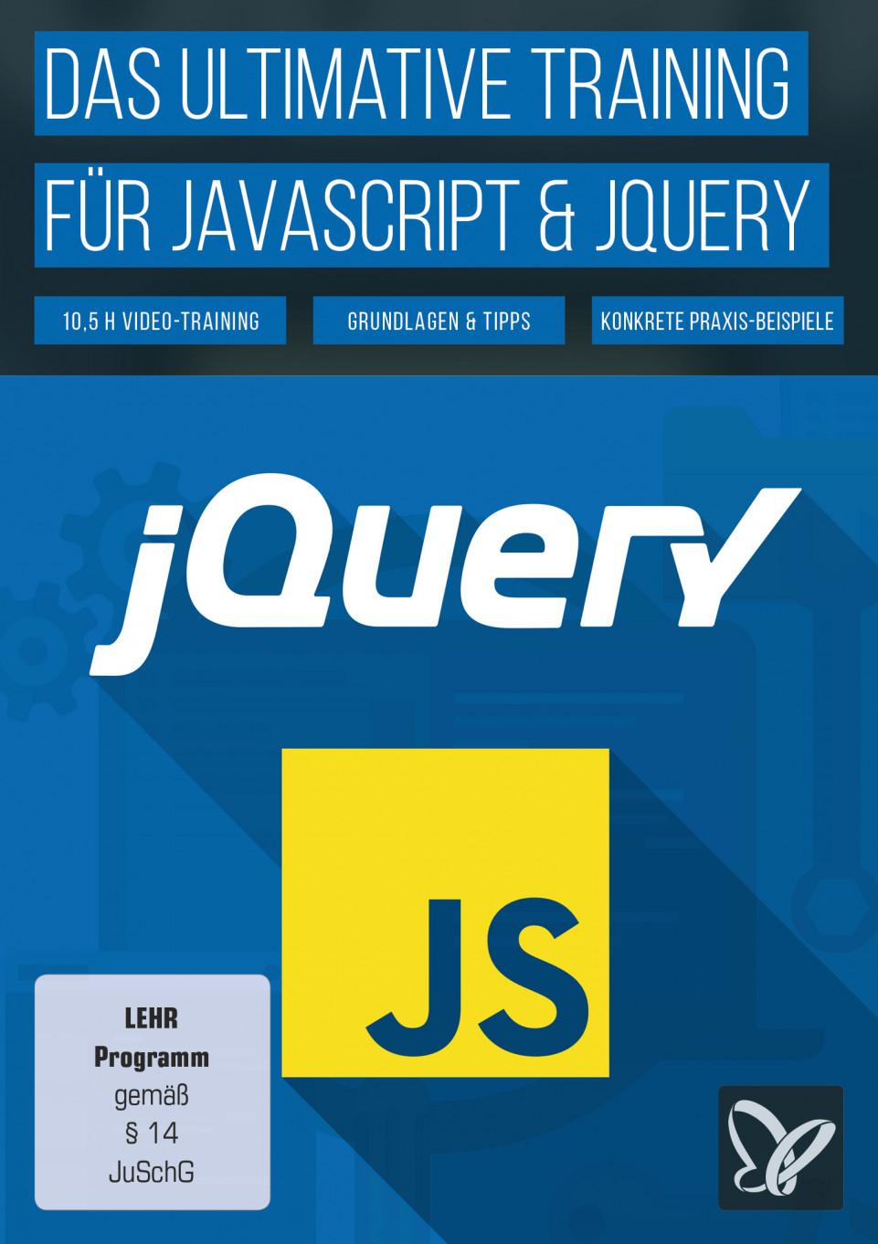 Video-Tutorial: JavaScript & jQuery lernen