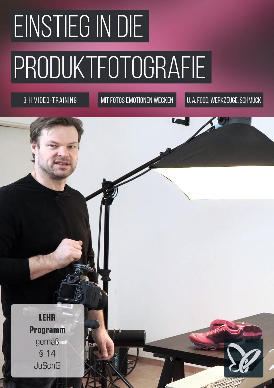 Einstieg in die Produktfotografie