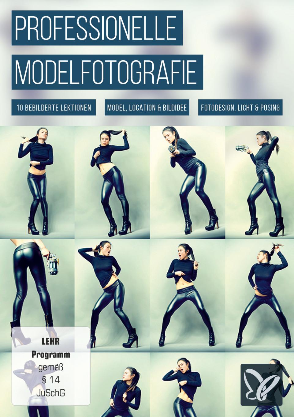 Professionelle Modelfotografie
