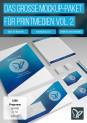 PSD-Mockups für Magazin, Broschüre, Briefpapier & Co – Volume 2