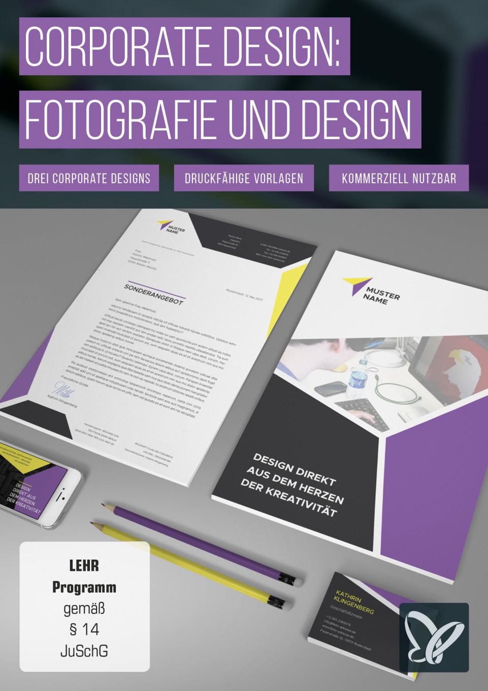 Corporate Design – die komplette Brand Identity für Fotografen und Designer