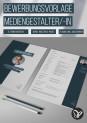 Bewerbung Mediengestalter/-in: kreatives Design-Muster