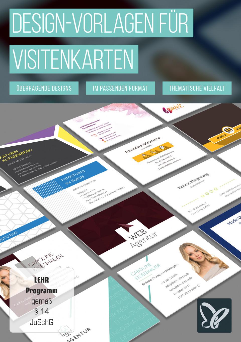 Design vorlagen f r visitenkarten - Visitenkarten gratis vorlagen ...