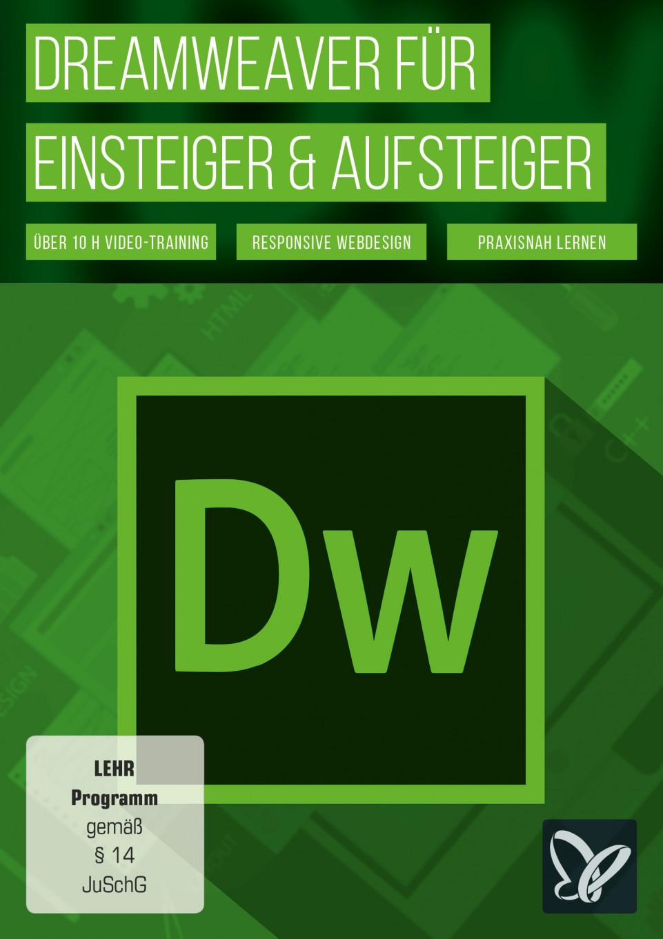 Dreamweaver für Einsteiger & Aufsteiger