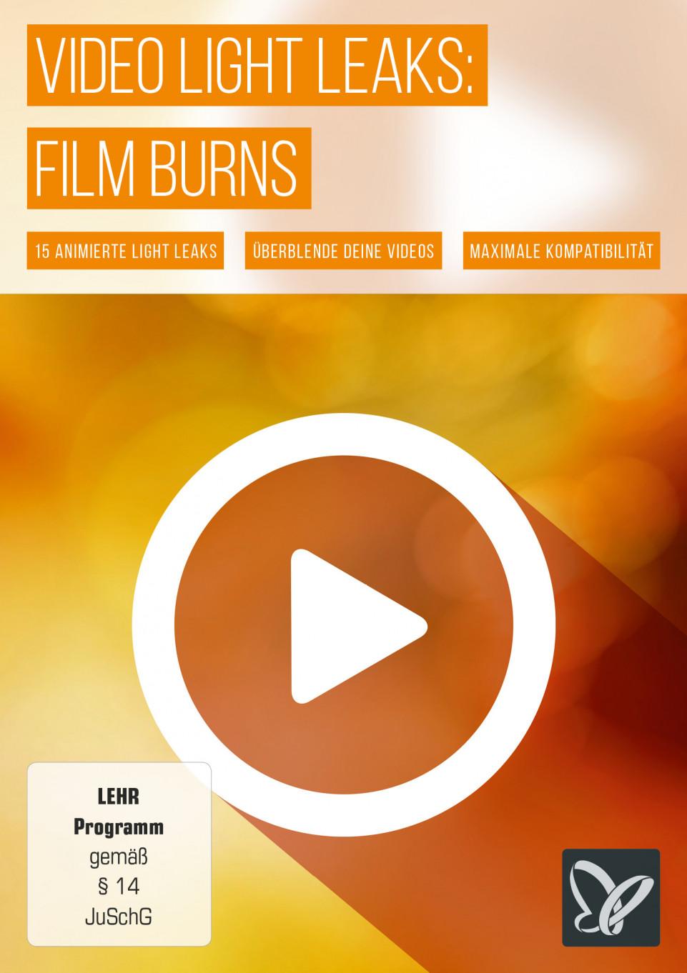 Film Burns für Videobearbeitung und Motion Design