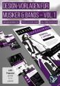 Design-Vorlagen für Musiker & Bands – Vol. 1