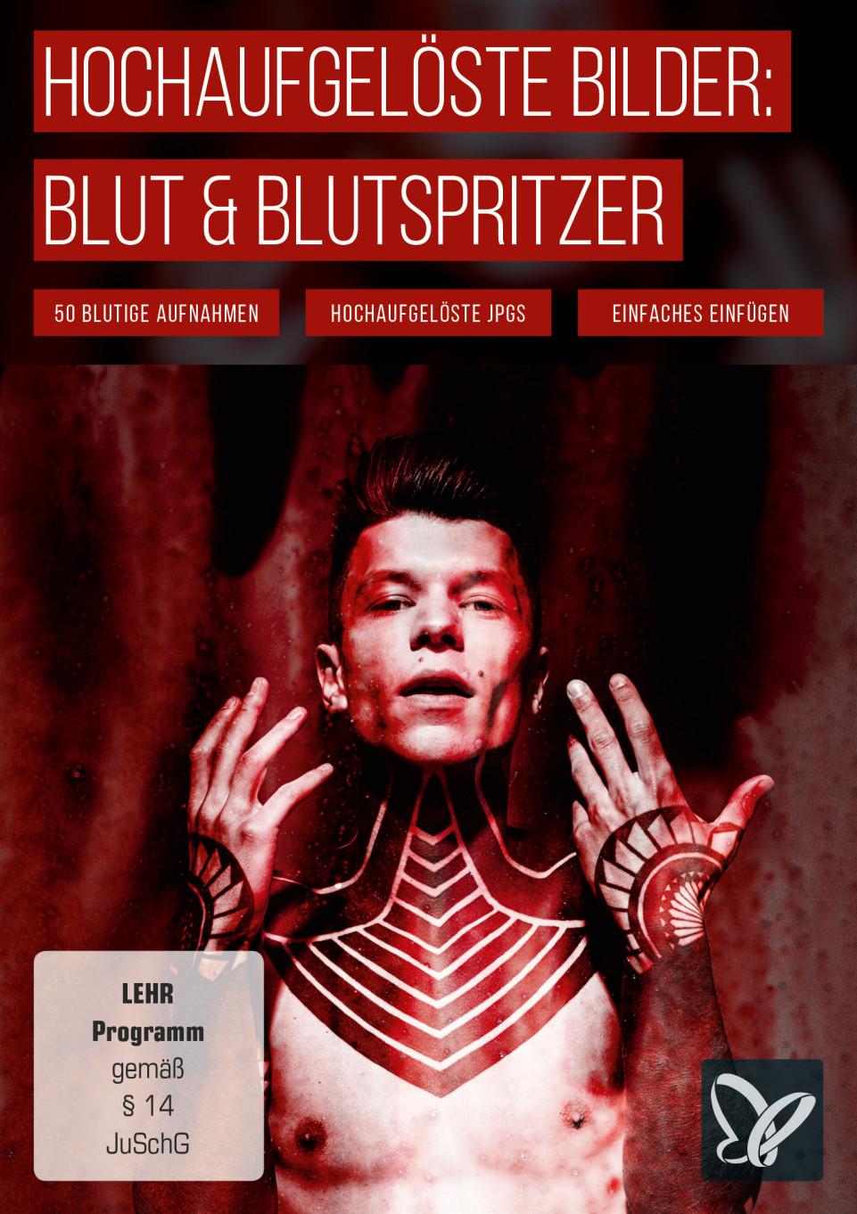 Hochaufgelöste Bilder, Texturen & Overlays: Blut & Blutspritzer