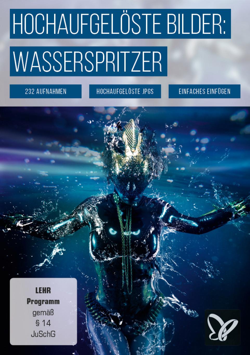 Wasser-Texturen: Bilder von Wassertropfen