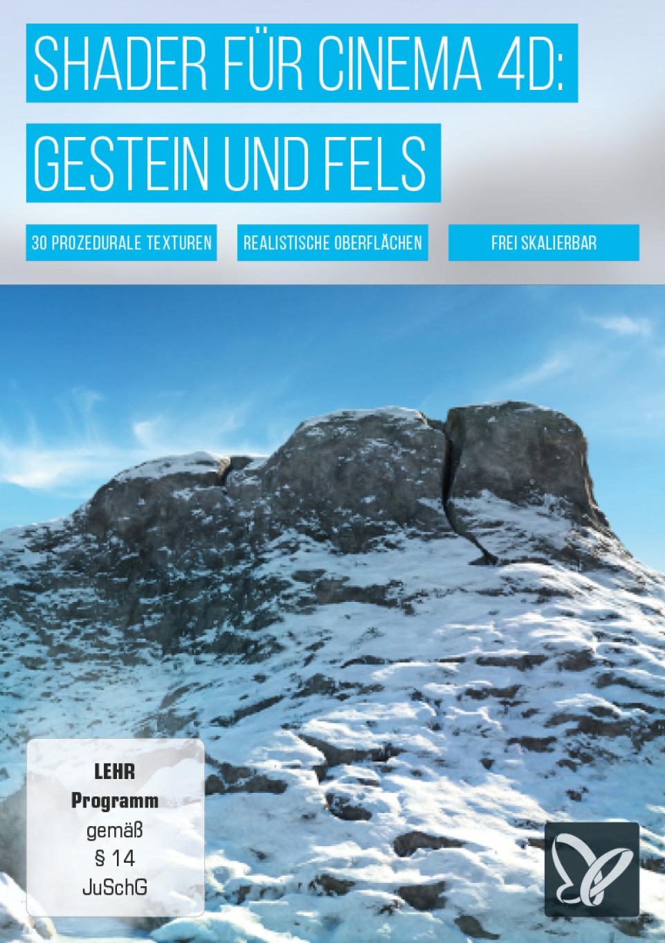Cinema 4D Texturen: Fels- und Stein-Textur