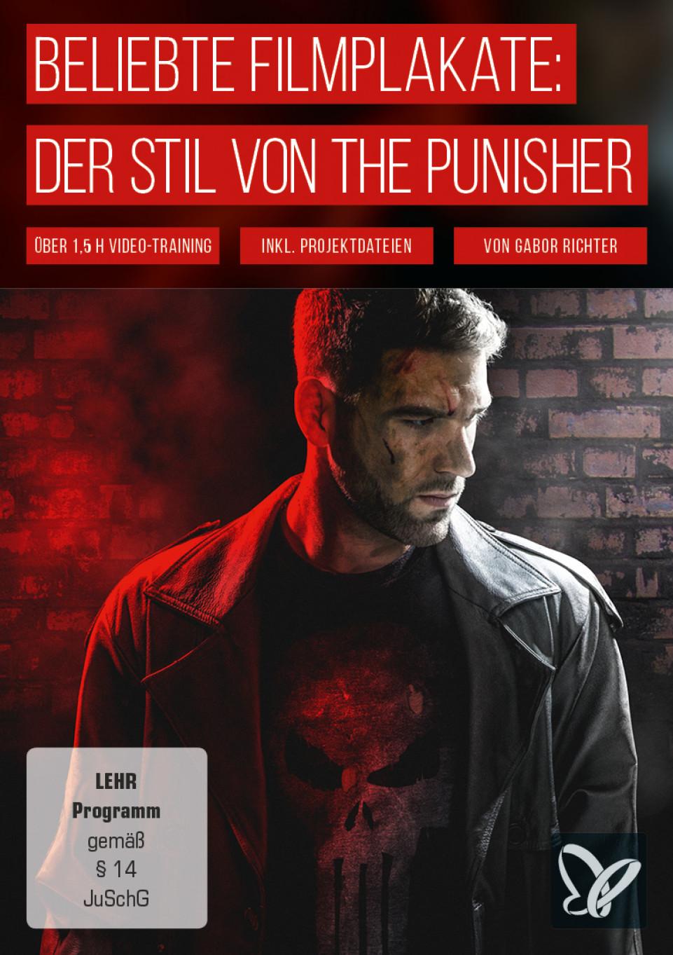 Poster im Stil des Punisher erstellen: der Cinematic Look in Photoshop