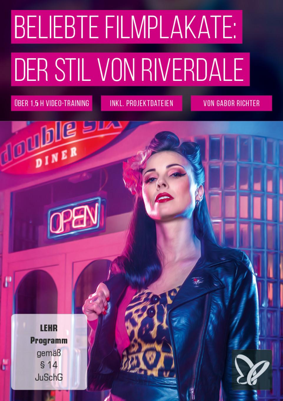Filmplakat erstellen im Stil von Riverdale – das Photoshop-Tutorial