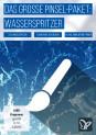 Pinsel-Set Wasserbilder, Wasserspritzer, Wassertropfen: Brushes für Photoshop, GIMP & Co