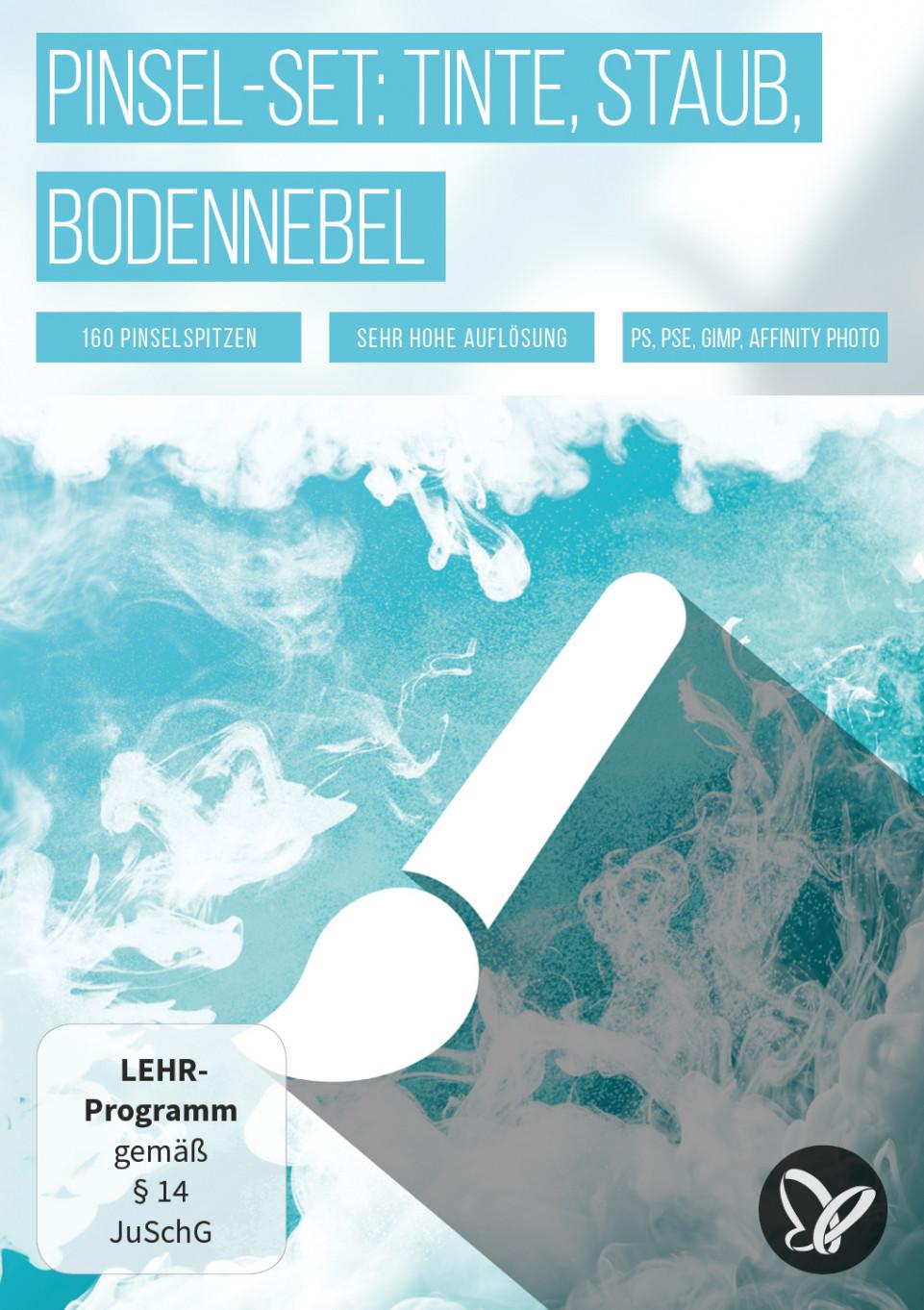 Pinsel für Photoshop & Co: Nebel, Rauch, Partikel & Staub