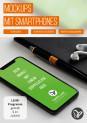 Mockups mit Smartphones, iPhones, Handys – Szenen für mobile Webseiten & Apps