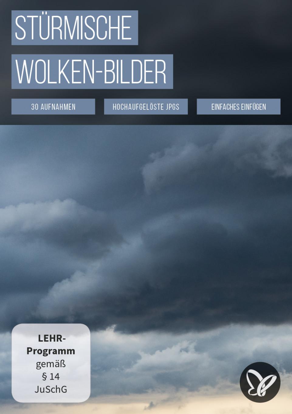 Wolken-Bilder: Himmel austauschen mit stürmischen Overlays