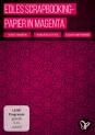 Edles Scrapbooking-Papier in Magenta zum Ausdrucken