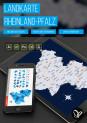Landkarte Rheinland-Pfalz mit Landkreisen