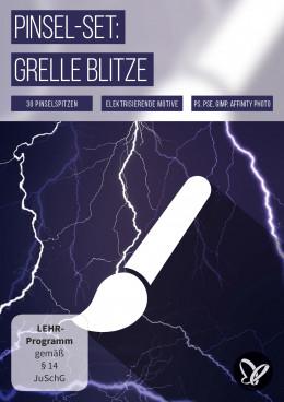 Elektrisierende Blitz-Bilder als Pinsel für Photoshop und Co