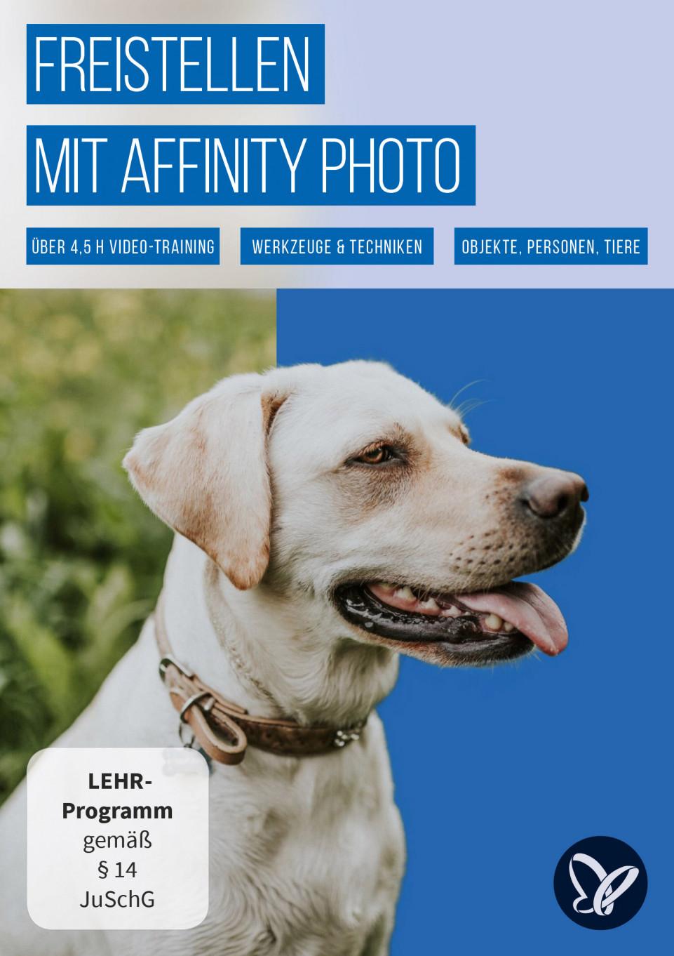 Freistellen mit Affinity Photo – Werkzeuge und Techniken