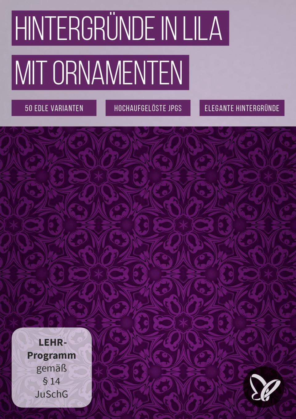50 lila Hintergrundbilder mit feinster Ornamentik