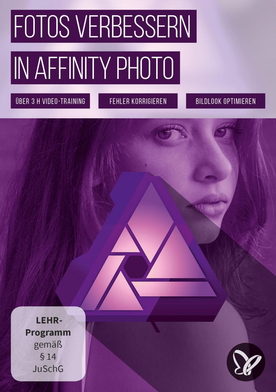 Fotos verbessern in Affinity Photo