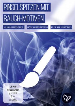100 Pinsel mit Rauch-Motiven für Photoshop, Affinity Photo, GIMP und Co.