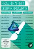 Affinity Designer – 50 Brushes mit Ornamenten in Vektorqualität