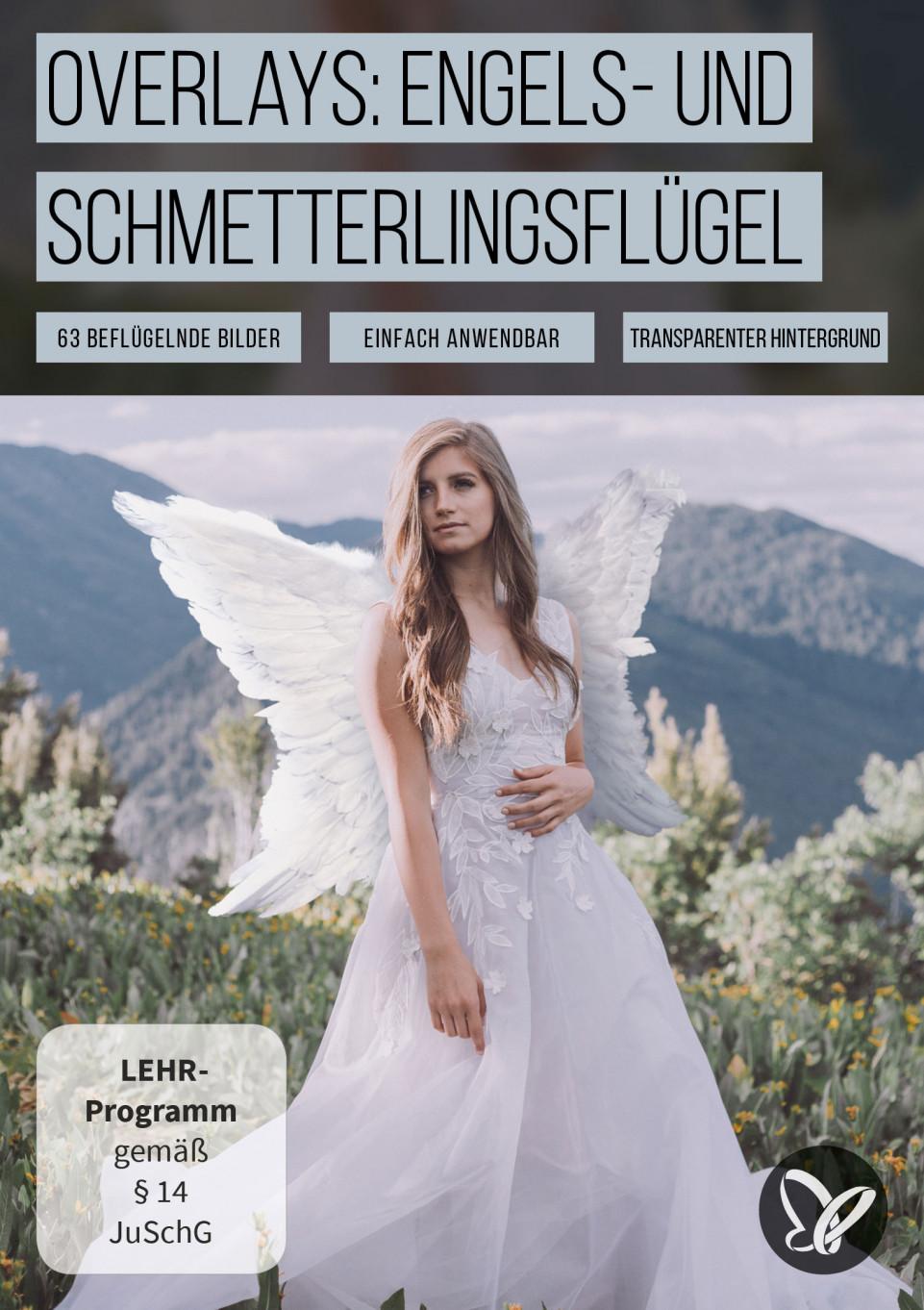 Fantastische Flügel-Bilder: Engel und Schmetterlinge