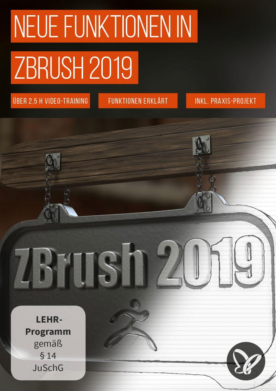 ZBrush 2019 – Video-Training zum Update